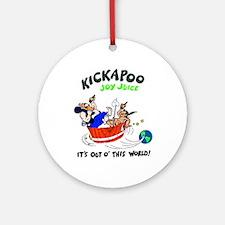 KICKAPOO Joy Juice - Ornament (Round)