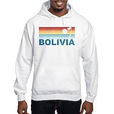 Retro Bolivia Palm Tree Hoodie