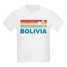 Retro Bolivia Palm Tree T-Shirt
