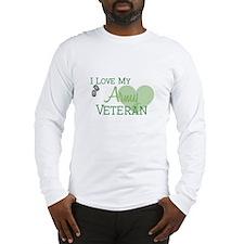Army Veteran Long Sleeve T-Shirt