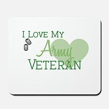 Army Veteran Mousepad
