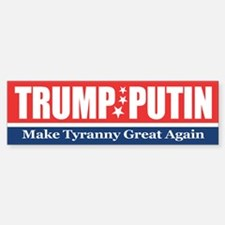 Trump Putin 2016 Bumper Car Car Sticker