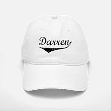 Darren Vintage (Black) Baseball Baseball Cap