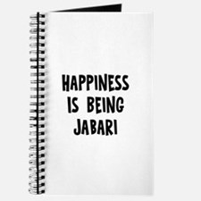 Happiness is being Jabari Journal