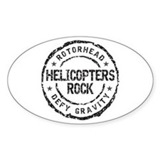 Rotorhead 1B Oval Decal