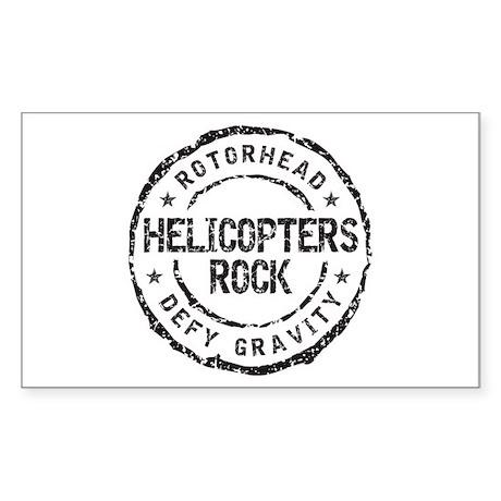 Rotorhead 1B Rectangle Sticker