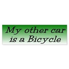 Bicycle Bumper Bumper Sticker