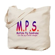 Multiple Pig Syndrome Tote Bag