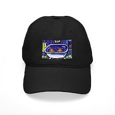SHETLAND SHEEPDOG sheltie bat Baseball Hat