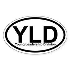 YLD Young Leadership Division Oval Decal