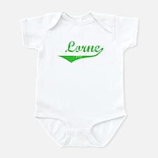 Lorne Vintage (Green) Infant Bodysuit