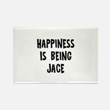 Happiness is being Jace Rectangle Magnet