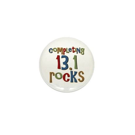 Completing 13.1 Rocks Marathon Mini Button (100 pa