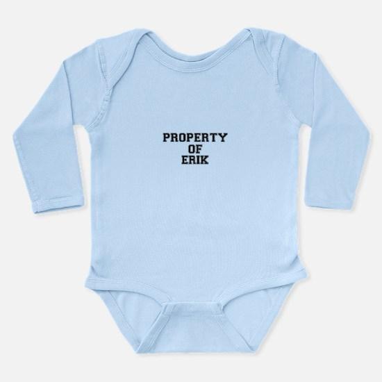 Property of ERIK Body Suit