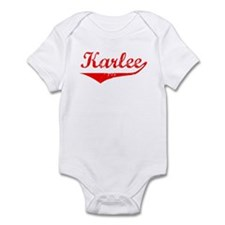 Karlee Vintage (Red) Infant Bodysuit