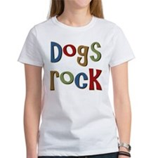 Dogs Rock Dog Lover Breeder Owner Tee