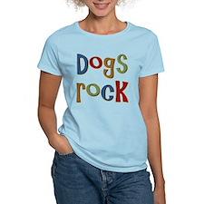 Dogs Rock Dog Lover Breeder Owner T-Shirt