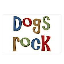 Dogs Rock Dog Lover Breeder Owner Postcards (Packa