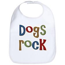 Dogs Rock Dog Lover Breeder Owner Bib