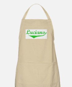Luciano Vintage (Green) BBQ Apron