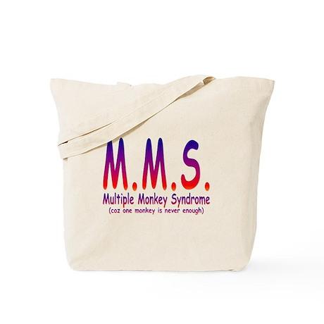 Multiple Monkey Syndrome Tote Bag