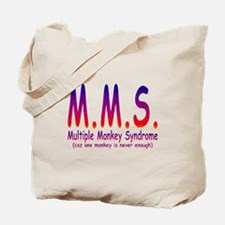 Multiple Monkey Syndrome Tote Bag