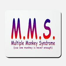 Multiple Monkey Syndrome Mousepad