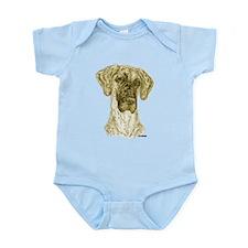 Sepia NBrdl Dots Infant Bodysuit