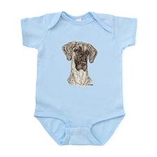 N Brdl Dots Infant Bodysuit