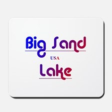 Big Sand Lake Mousepad
