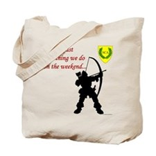 Not Just Archery Tote Bag