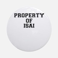 Property of ISAI Round Ornament