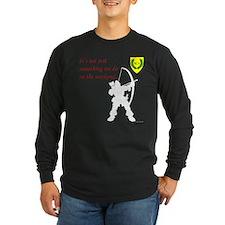 Not Just Archery Long Sleeve Dark T-Shirt