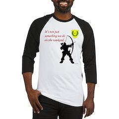 Not Just Archery Baseball Jersey