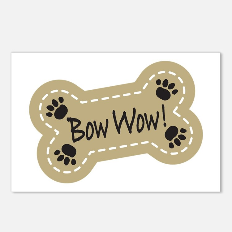 Bow Wow! Postcards (Package of 8)