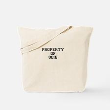Property of ODIE Tote Bag
