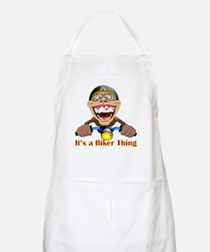 It's a biker thing BBQ Apron