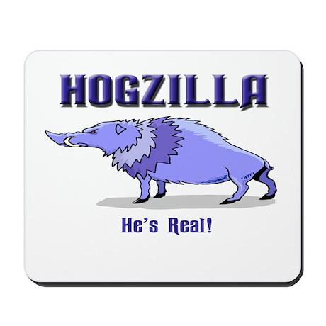 HOGZILLA... He's Real Mousepad