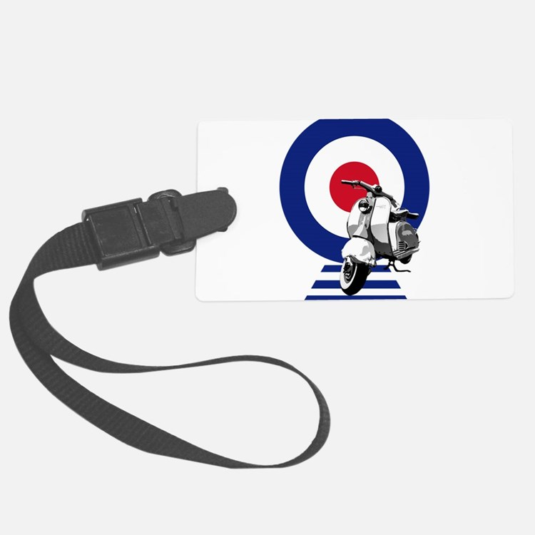 Mod Target Scooter Luggage Tag