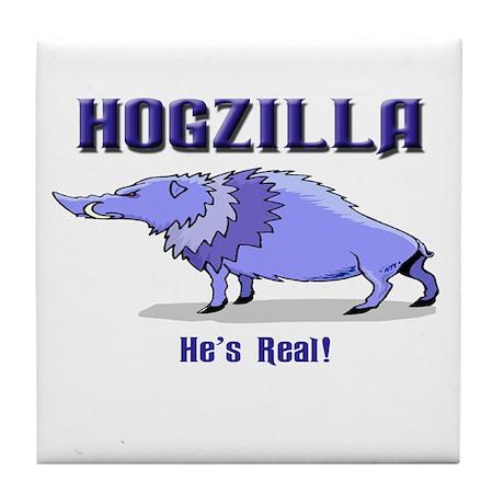 HOGZILLA... He's Real Tile Coaster