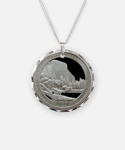 Yosemite Quarter Coin Necklace