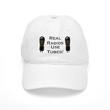 Real Radios Use Tubes! Baseball Cap