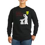 Not just Blacksmithing Long Sleeve Dark T-Shirt