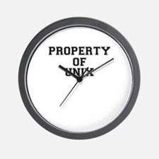 Property of UNIX Wall Clock