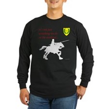 Not Just Equestrian Arts Long Sleeve Dark T-Shirt