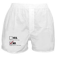 Rat's Ass, No... Boxer Shorts