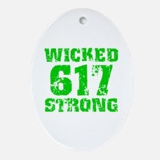 Wicked 617 Strong Oval Ornament