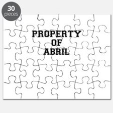 Property of ABRIL Puzzle
