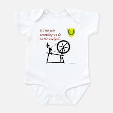 Not just Fiber Arts Infant Bodysuit