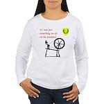 Not just Fiber Arts Women's Long Sleeve T-Shirt